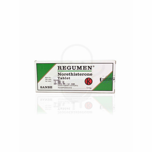 REGUMEN 5 MG TABLET BOX