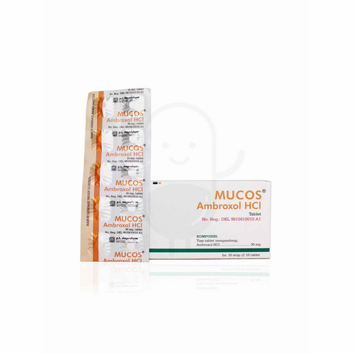 MUCOS 30 MG TABLET STRIP