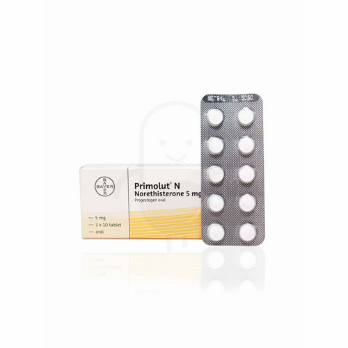 PRIMOLUT N 5 MG TABLET