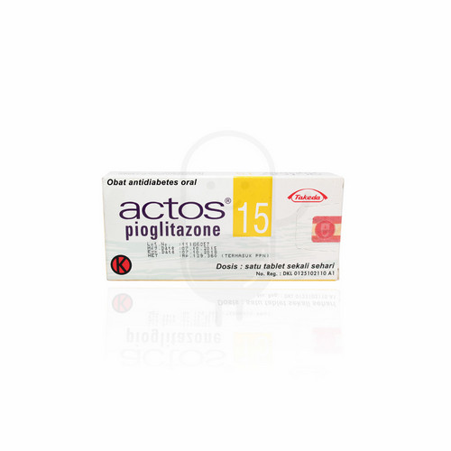 ACTOS 15 MG TABLET