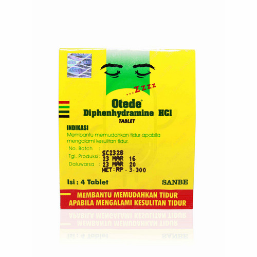 OTEDE 50 MG TABLET