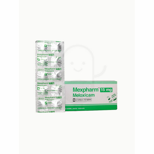 MEXPHARM 15 MG TABLET STRIP