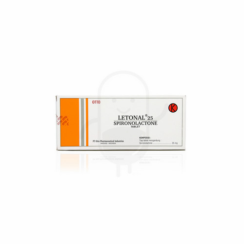 LETONAL 25 MG STRIP 10 TABLET