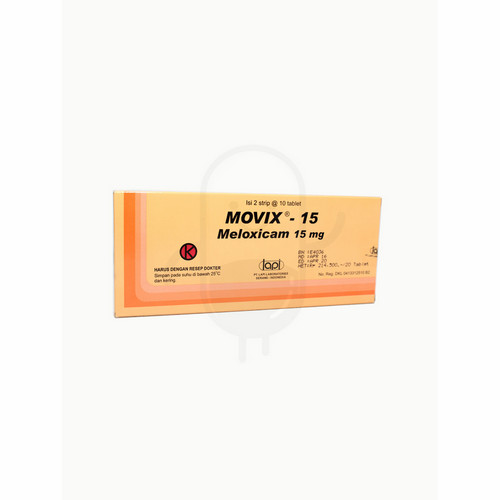 MOVIX 15 MG TABLET