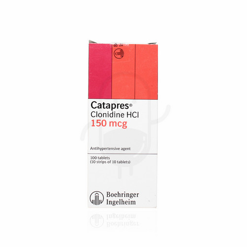 CATAPRES 150 MG TABLET BOX