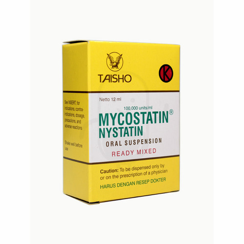 MYCOSTATIN ORAL DROP 12 ML SUSPENSI