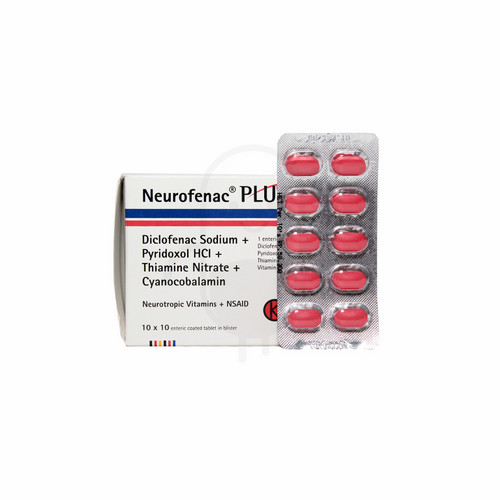 NEUROFENAC PLUS TABLET STRIP