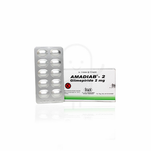 AMADIAB 2 MG KAPLET STRIP