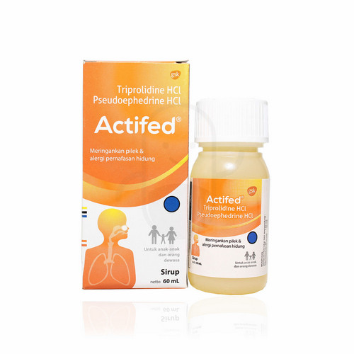 ACTIFED SIRUP 60 ML