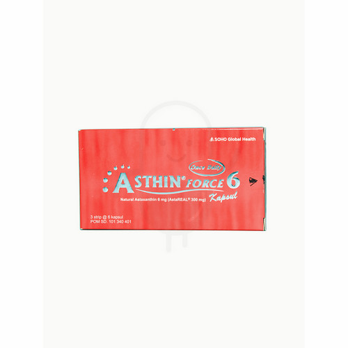 ASTHIN FORCE 6 BOX 18 KAPSUL