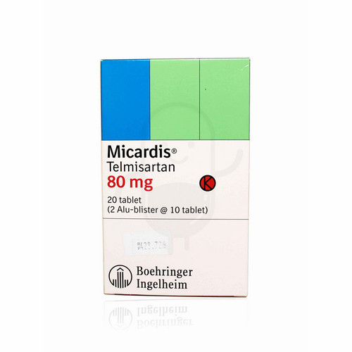 MICARDIS 80 MG TABLET BOX