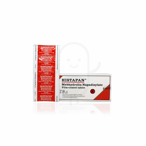 HISTAPAN 50 MG TABLET STRIP