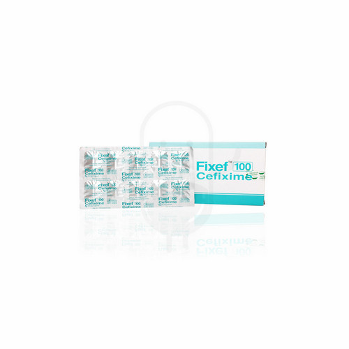 FIXEF 100 MG KAPSUL STRIP