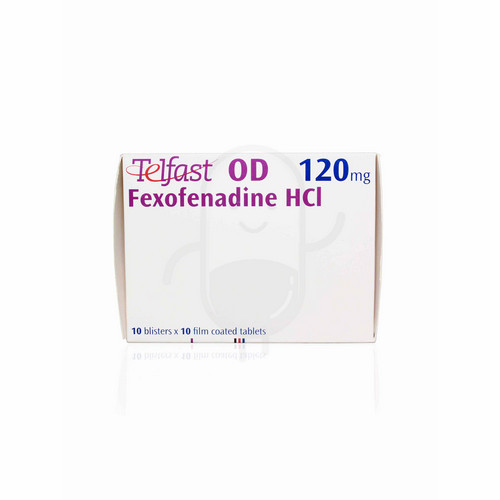 TELFAST OD 120 MG BOX 100 TABLET