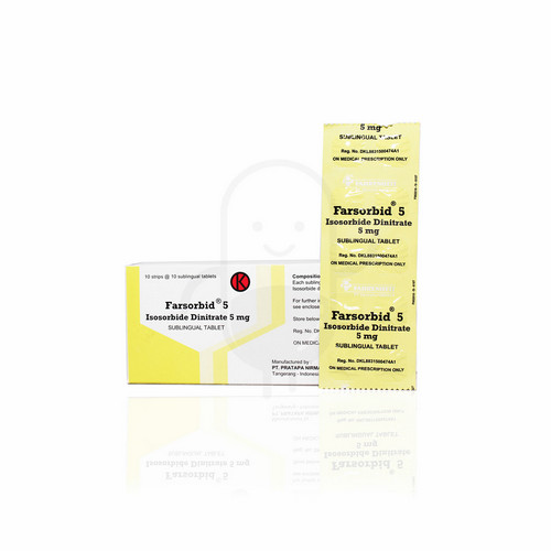 FARSORBID 5 MG TABLET