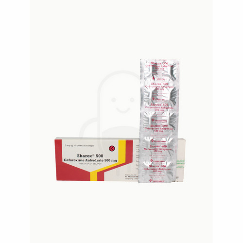 SHAROX 500 MG TABLET STRIP