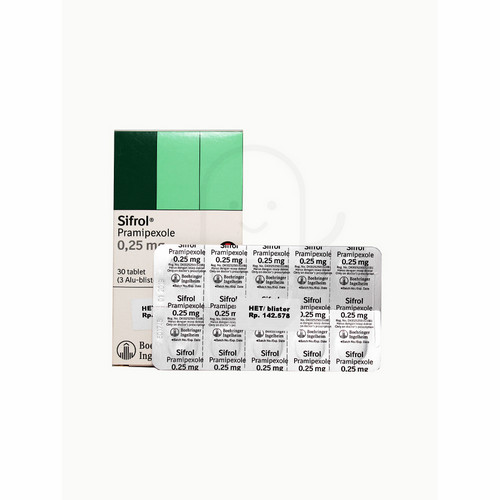 SIFROL 0.250 MG TABLET