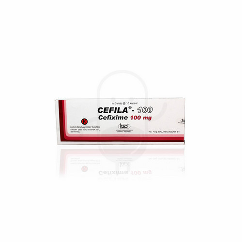 CEFILA 100 MG KAPSUL BOX