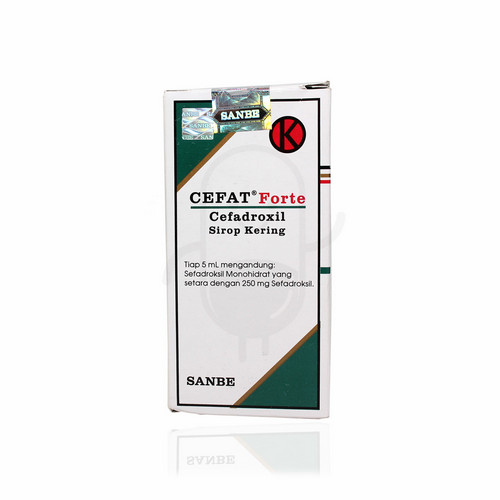 CEFAT 250 MG 60 ML SIRUP