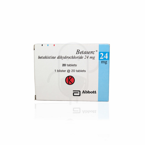 BETASERC 24 MG TABLET BOX