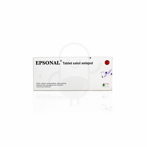 EPSONAL 50 MG TABLET