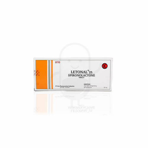 LETONAL 25 MG TABLET