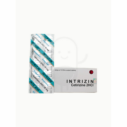 INTRIZIN 10 MG TABLET STRIP
