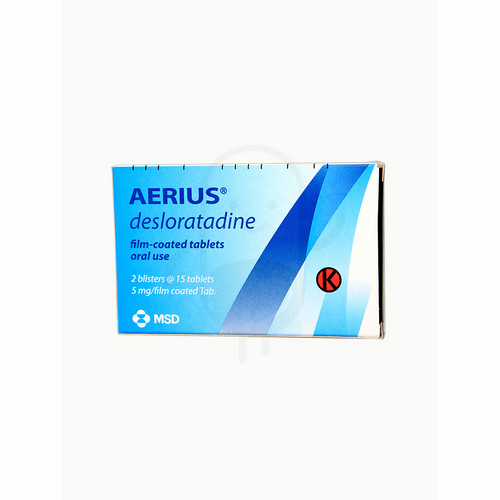 AERIUS D-12 STRIP 5 TABLET