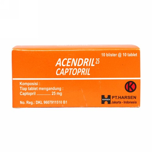 ACENDRIL 25 MG TABLET