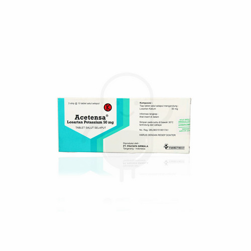 ACETENSA 50 MG BOX 30 TABLET