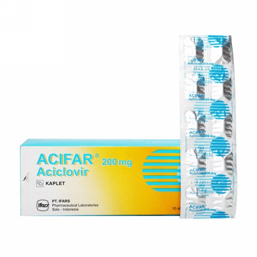 ACIFAR 200 MG BOX 100 KAPLET