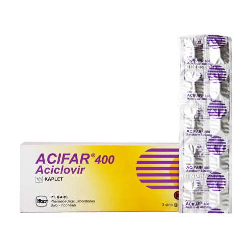 ACIFAR 400 MG BOX 30 KAPLET
