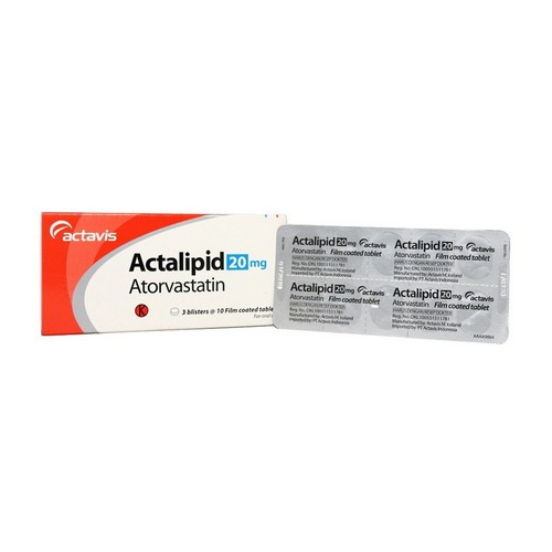 ACTALIPID 20 MG TABLET BOX