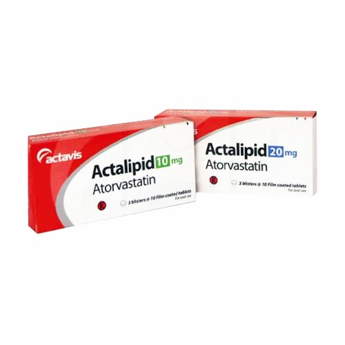 ACTALIPID 10 MG TABLET STRIP