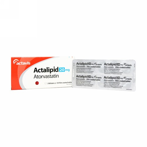 ACTALIPID 20 MG TABLET