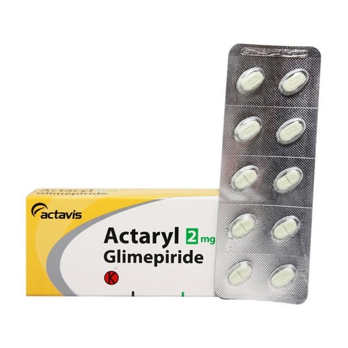ACTARYL 2 MG STRIP 10 TABLET