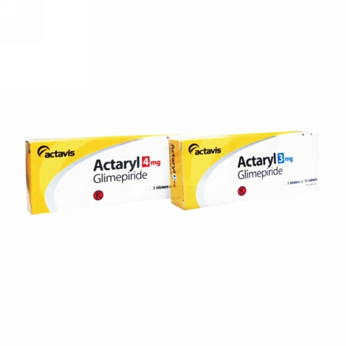 ACTARYL 4 MG TABLET BOX