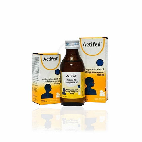 ACTIFED SIRUP 120 ML