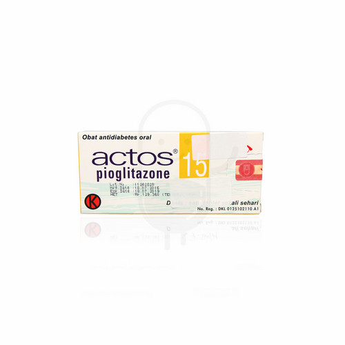 ACTOS 15 MG TABLET STRIP