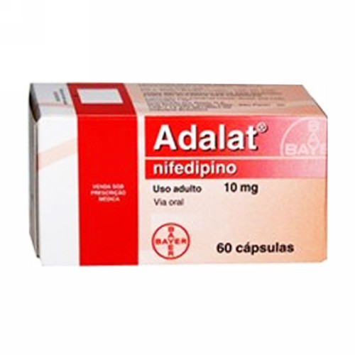 ADALAT 10 MG TABLET BOX