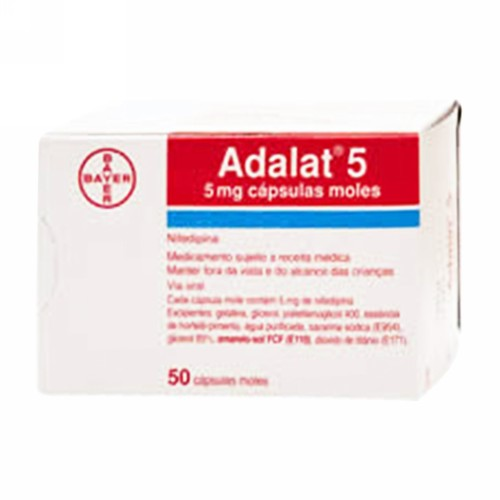 ADALAT 5 MG TABLET STRIP