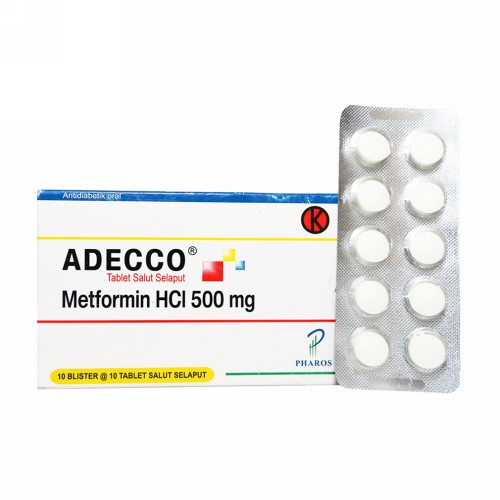 ADECCO 500 MG TABLET STRIP