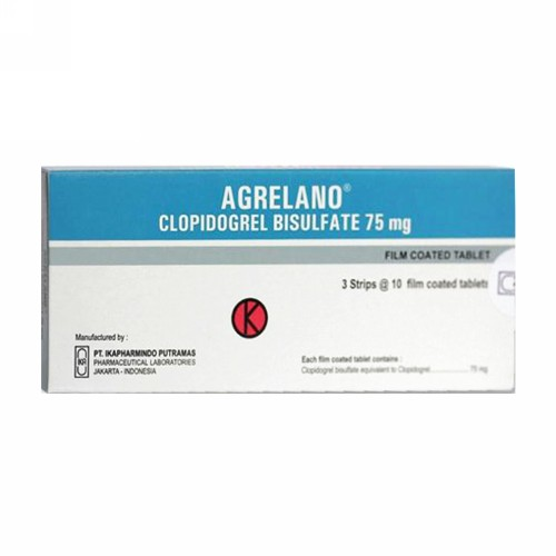 AGRELANO 75 MG TABLET STRIP