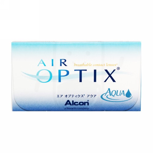 AIR OPTIX AQUA SILICONE HYDROGEL MONTHLY CLEAR LENS ( -3.50) BENING