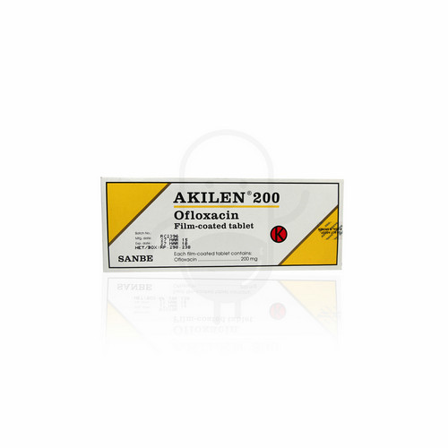 AKILEN 200 MG TABLET BOX