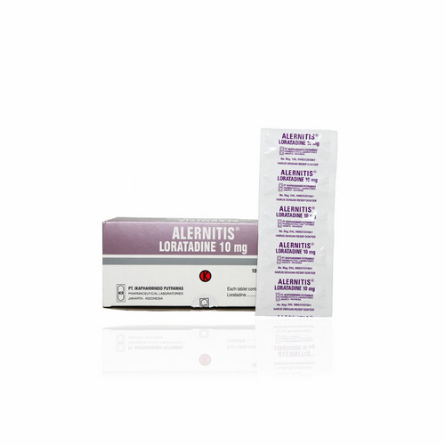 ALERNITIS 10 MG BOX 100 TABLET
