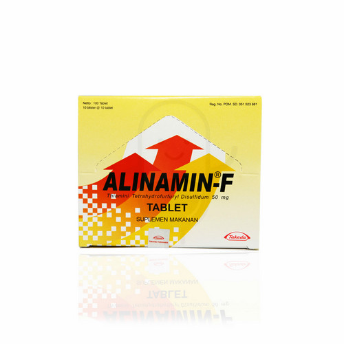 ALINAMIN F BOX 100 TABLET