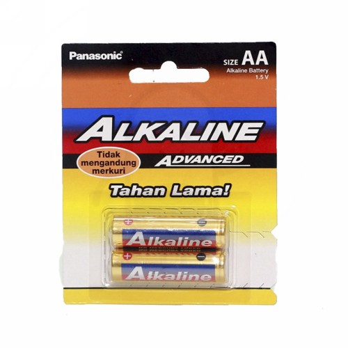 ALKALINE BATTERY PANASONIC AA 2 PCS
