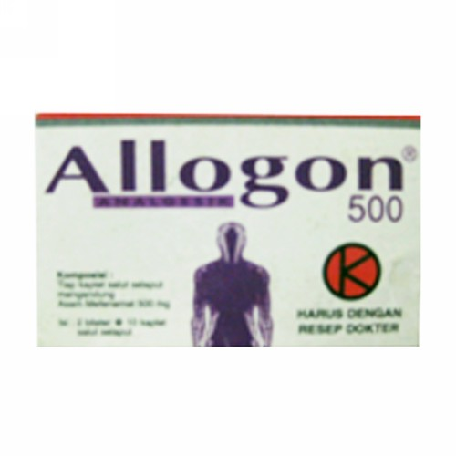 ALLOGON 500 MG BOX 100 KAPLET