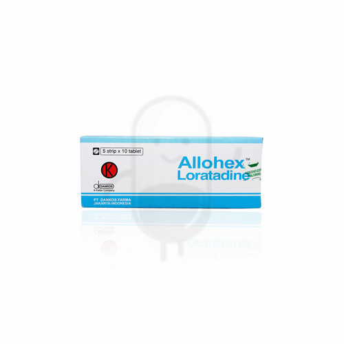 ALLOHEX 10 MG TABLET